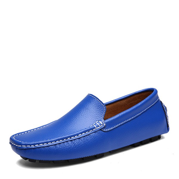 Erkek gerçek deri Tekne Ayakkabıları Gündelik Erkek Makosen Ayakkabı