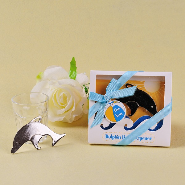 Creative/Classic/Lovely Dolphin Shaped Zinc alloy Bottle Openers (Sold in a single piece)