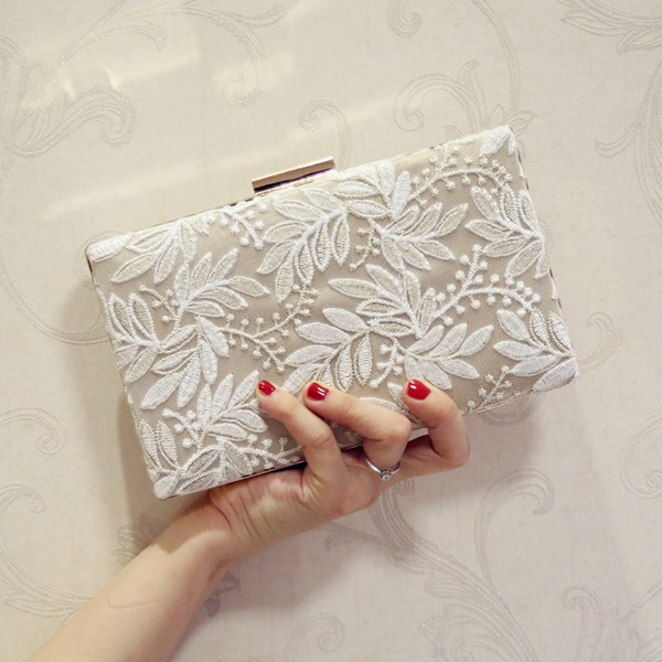 Elegant Canvas Clutches