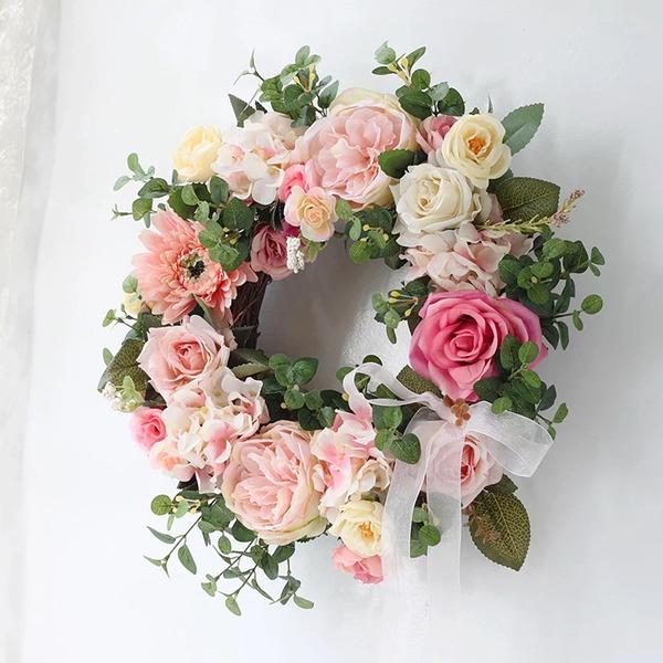 Simples/Bonito Redondo/Atraente Flores Artificiais Decorações de Casamentos
