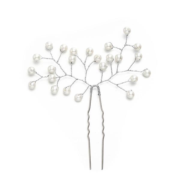 Дамы Классический Перлы ложный заколки с искусственный жемчуг (Продается в виде единой детали)