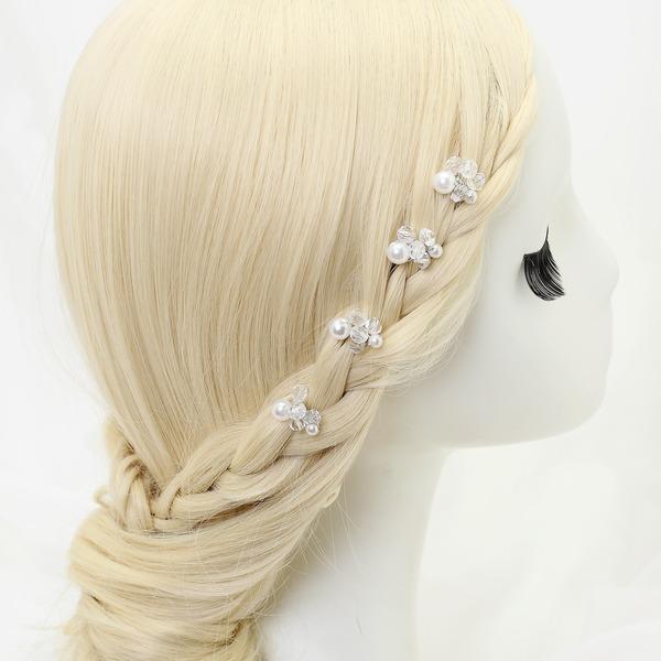 Bonito Liga/Pérolas de imitação/Perline Grampos de cabelo