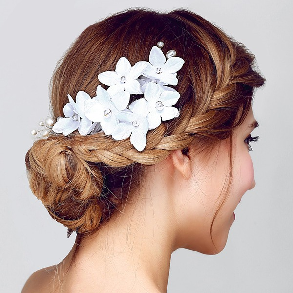 Affascinante Fiore di seta Fiori & piume