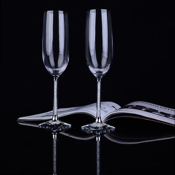 Personalizado Estilo clásico Flautas tostado (Juego De 2)