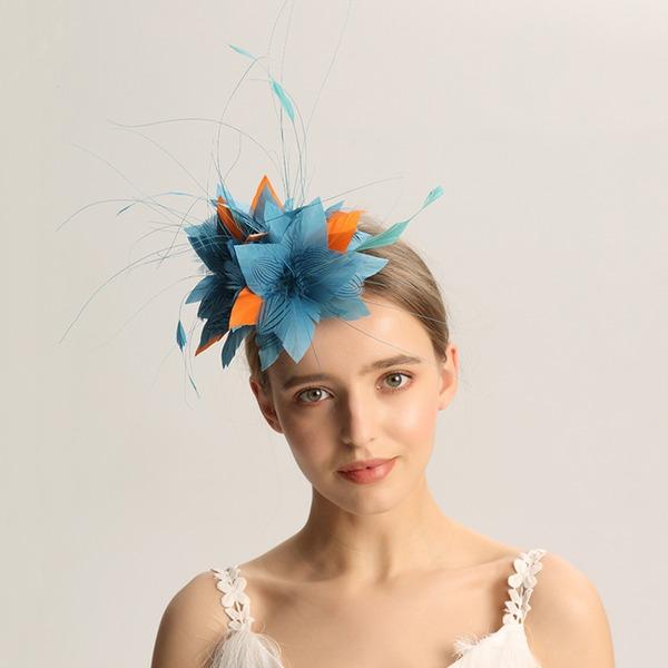 Dames Mode/Spécial/Glamour/Élégante/Unique/Fantaisie/Romantique/Style Vintage/Artistique Feather Chapeaux de type fascinator