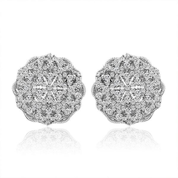 Ladies' Stylish Alloy/Cubic Zirconia Cubic Zirconia Earrings For Bride
