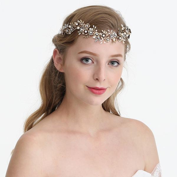 Abbigliamento donna Bella Strass/lega/Di faux perla Fasce con Strass/Perla Veneziano (Venduto in un unico pezzo)