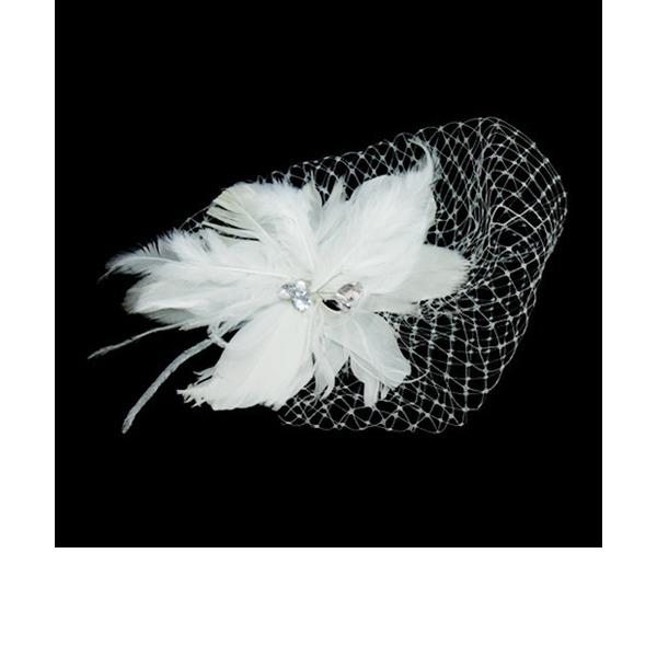 Gorgeous Piuma/Tyll Fiori & piume con Strass