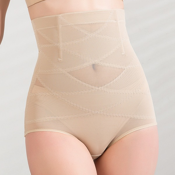 Women Classic/Casual Cotton/Chinlon Breathability High Waist Panties Shapewear