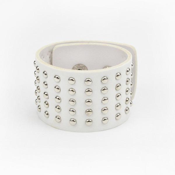 Unique Similicuir avec Rivet Femmes Bracelets de mode (Vendu dans une seule pièce)
