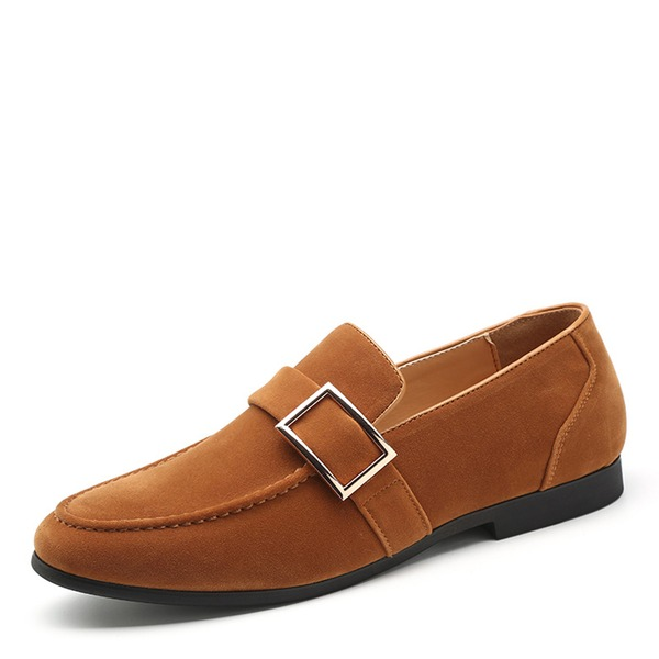 Mannen Suede Horsebit Loafer Casual Loafers voor heren