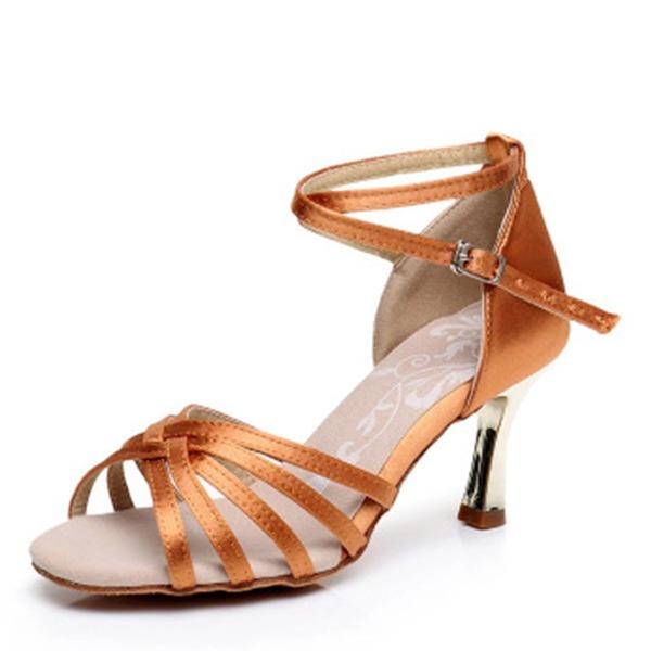 Donna Raso Tacchi Latino Swing Scarpe da ballo