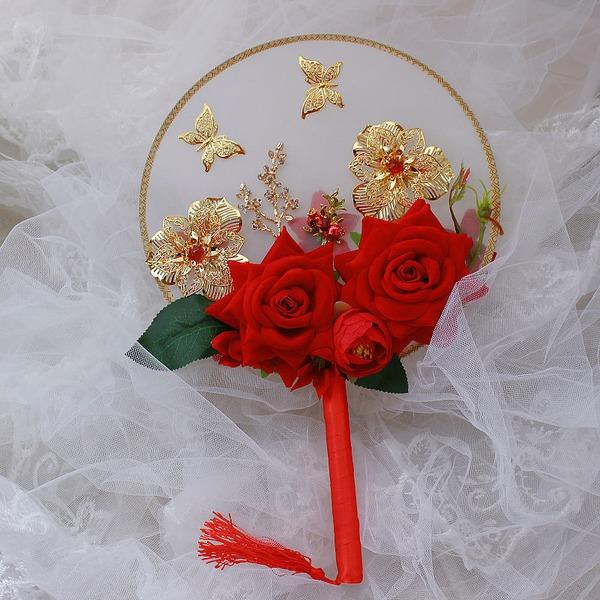 Seide Blumen Hochzeit Fans