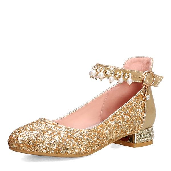 Naisten Keinonahasta Chunky heel Avokkaat أحذية