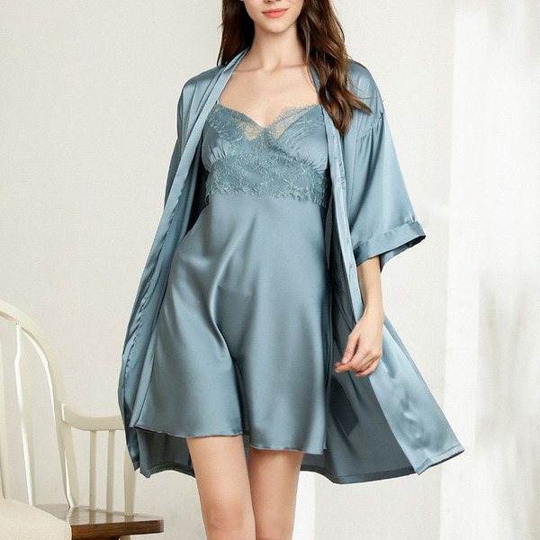 Bridal/Feminine Gorgeous Polyester Sleepwear Sets/Slips