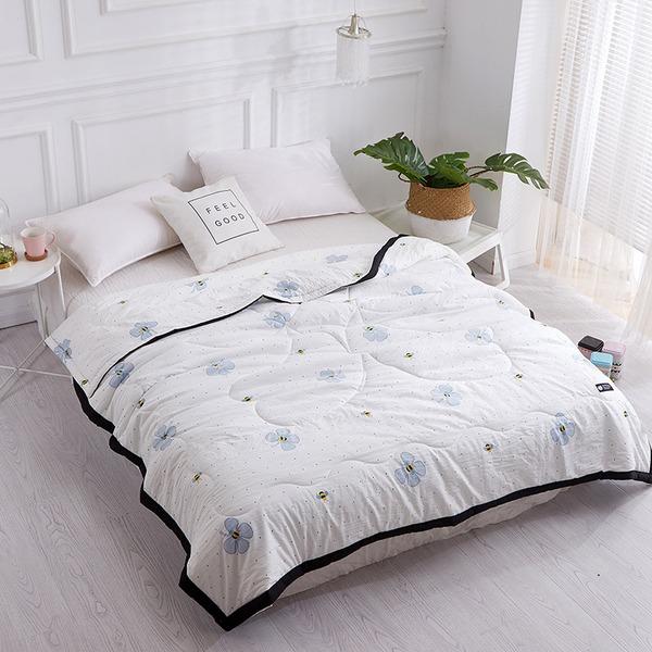 élégante style classique Polyester Lit et bain vendu en un seul