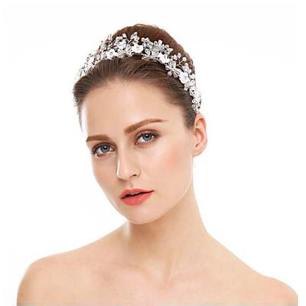 Ladies Classic Crystal/Rhinestone Headbands (Sold in single piece)
