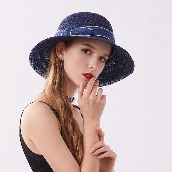 Bayanlar Klasik/Şık Dantel Ile İlmek Plaj / Güneş Şapkaları