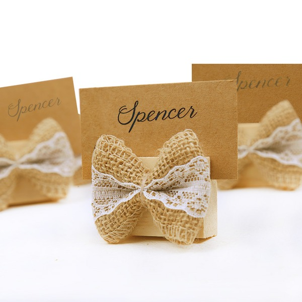 Simple/Classic Practical Wooden Place Cards (set of 20)