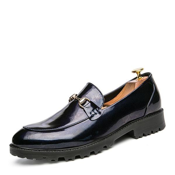 Menn Microfiber Lær Horsebit Loafer Avslappet Loafers til herre