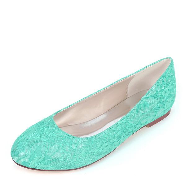 Femmes Soie comme du satin Talon plat Chaussures plates avec Autres