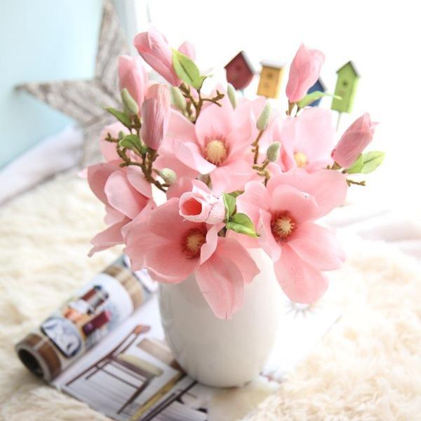 Söt Siden blomma Konstgjorda Blommor (Säljs i ett enda stycke)