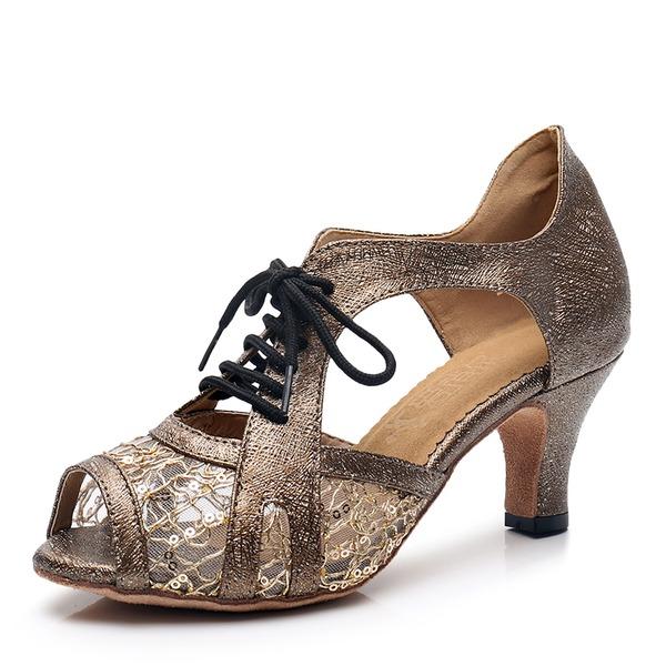 Kadın Suni deri Latin Dans Ayakkabıları