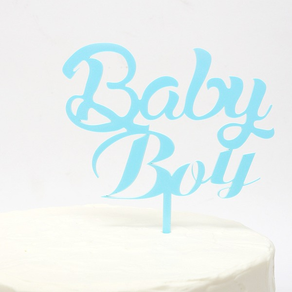 Paper Cake Topper (Sold in a single piece)