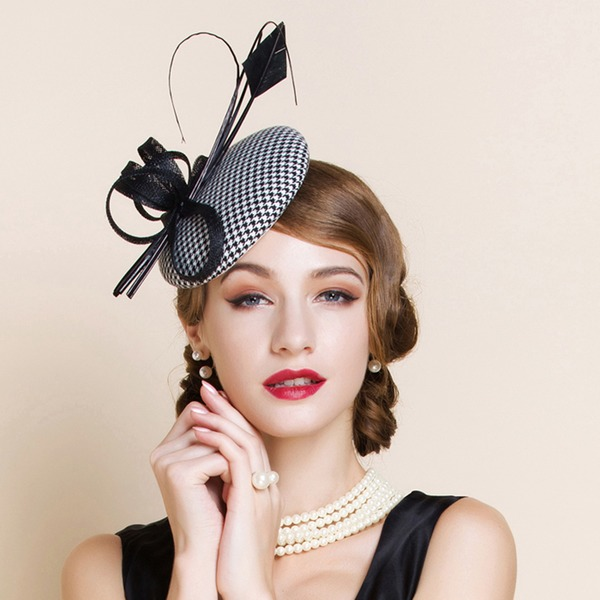 Ladies' Beautiful/Glamourous/Elegant/Eye-catching/Charming Polyester Fascinators