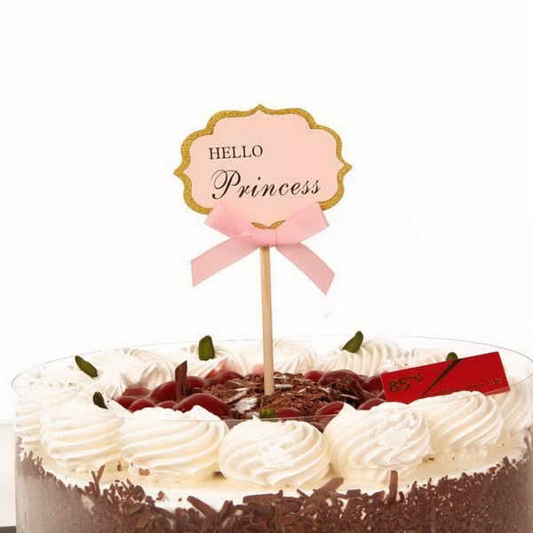 Paper Cake Topper (Set of 12)