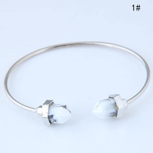 Mode Alliage Résine Dames Bracelets de mode