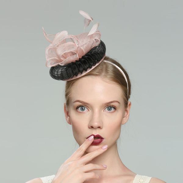 Charmosa/Elegante/Simples/Atraente/Fantasia/Romântico/Artístico Cambraia Fascinators