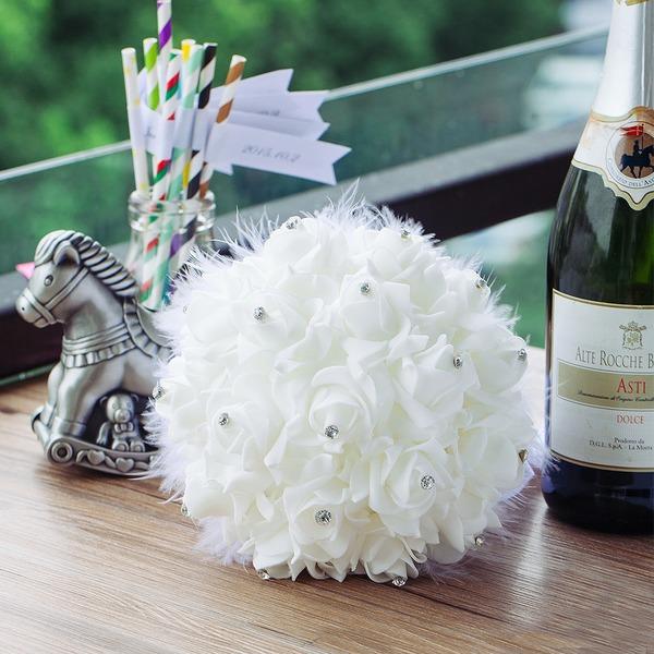 Сладкий Круглый ЧП Свадебные букеты