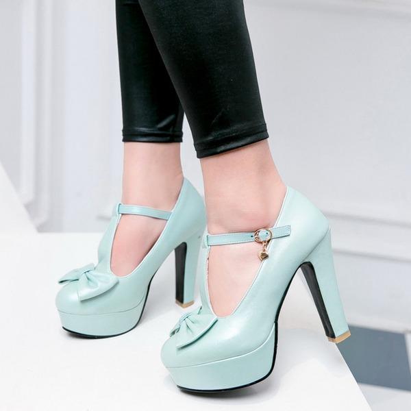 Donna Similpelle Tacco a spillo Sandalo Piattaforma scarpe