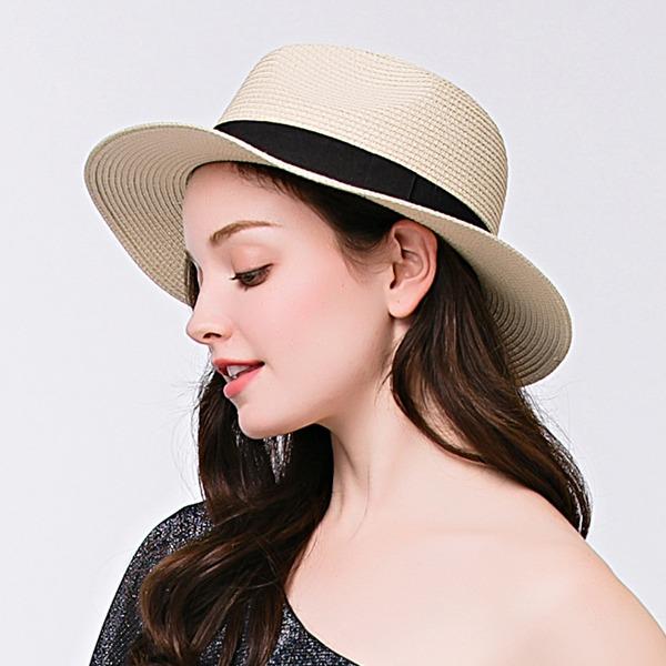 женские Элегантные Плетеная соломы соломенная шляпа
