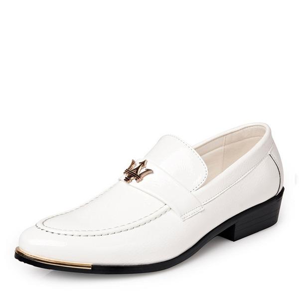 Homens Couro Casual Sapatos De Vestido Mocassins Masculinos