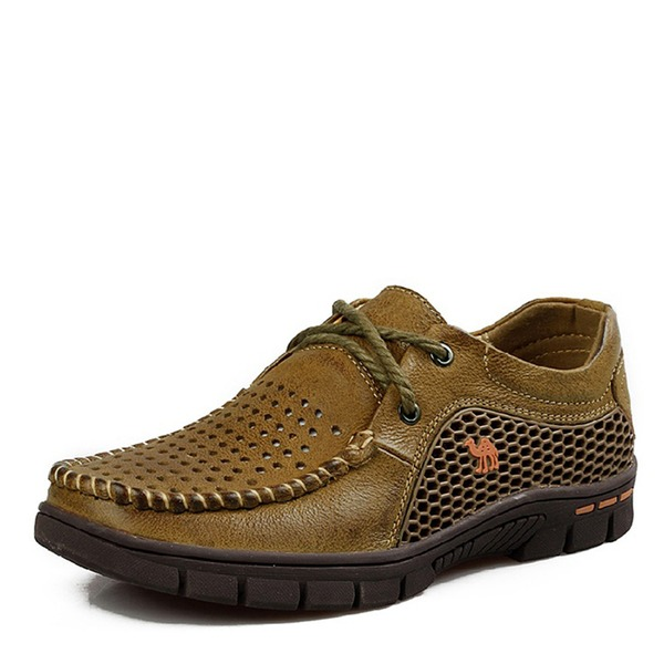 Mannen Echt Leer Casual Loafers voor heren