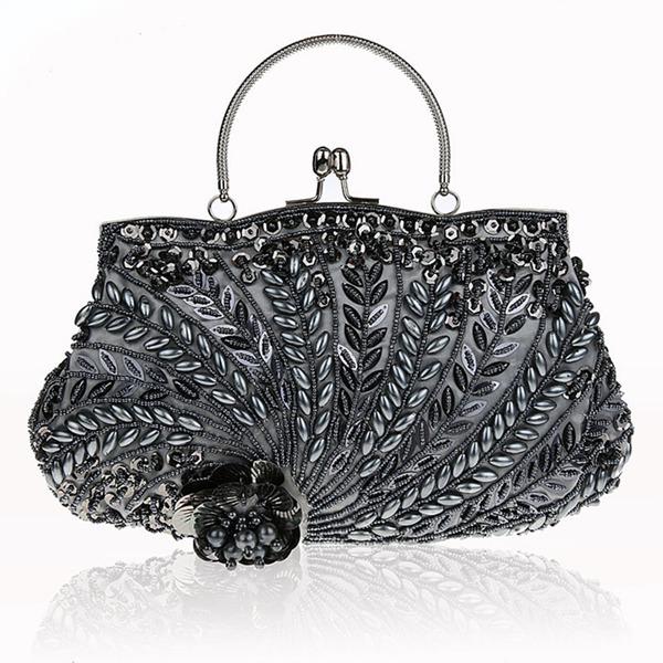 Anhänger Baumwolle Handtaschen/Wristlet Taschen/Umhängetasche/Henkeltaschen/Braut Geld-Beutel/Abendtaschen