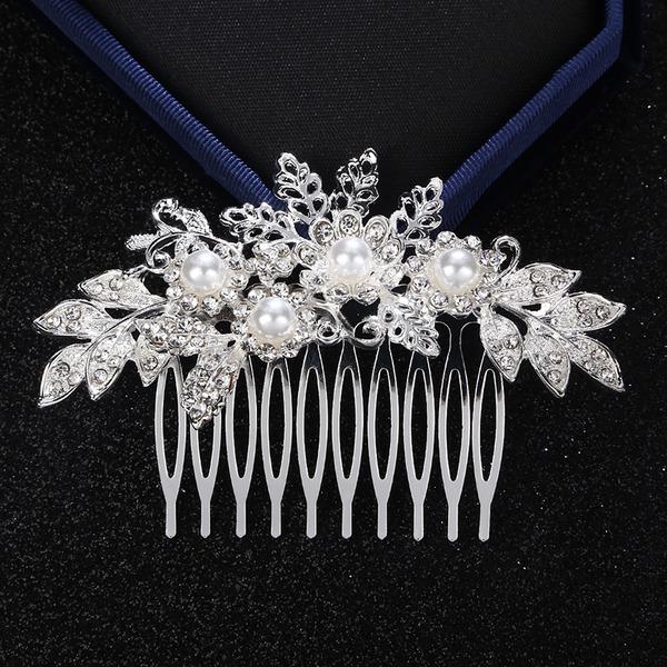 Abbigliamento donna Brillante lega Pettine & clip di capelli con Strass/Perla Veneziano (Venduto in un unico pezzo)