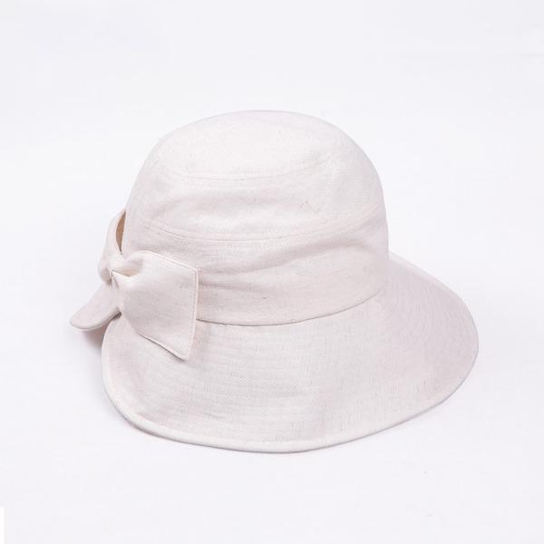 Sonar Naisten Yksinkertainen Puuvilla jossa Bowknot Keilaaja / Clochen hattu