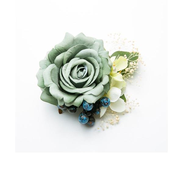 Дамы Специальный шелковые цветы Комбс и заколки