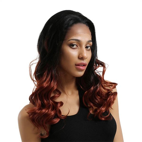 Body Wave Syntetiske Lace Front Parykker