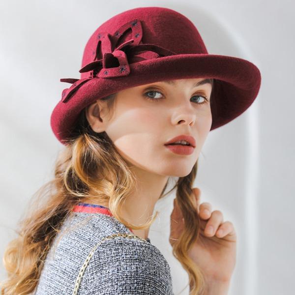 Ladies ' Móda/Klasický/Pěkný/Romantický Vlna Floppy klobouk