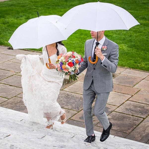 Impact cloth Wedding Umbrellas