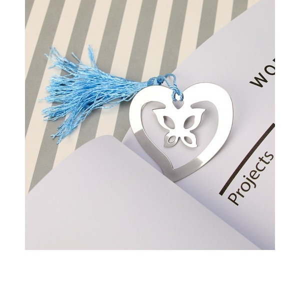 Classic/Lovely Heart Shaped Metal Bookmarks (Sold in a single)