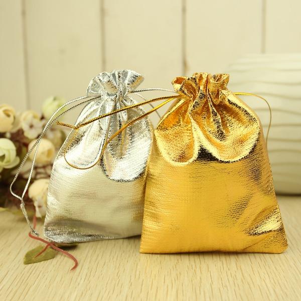 Cordon de serrage métallique Sacs cadeaux (Lot de 12)