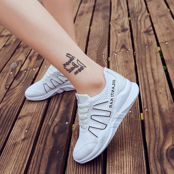 Kvinnor Mesh Flat Heel Platta Skor / Fritidsskor med Bandage skor