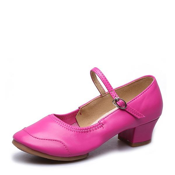 Dla kobiet Prawdziwa Skóra Tenisówki buty do butów Z Klamra Buty do Tańca