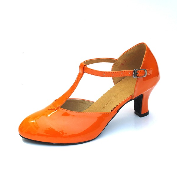 Donna Similpelle Tacchi Stiletto Sala da ballo con Con Listino a T Scarpe da ballo