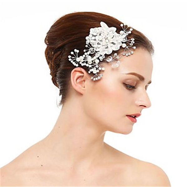 Ladies Classic Crystal/Rhinestone/Pearls Hairpins (Sold in single piece)